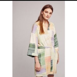 EUC Lilka watercolor robe from Anthropologie XS-S